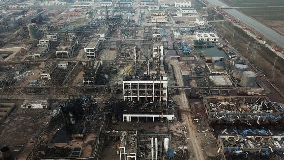 China to Close Industrial Park Where Blast Killed 78 People