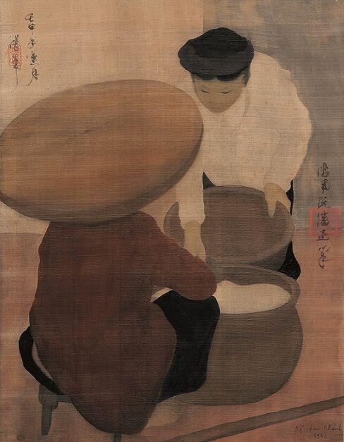 Nguyen Phan Chanh painting