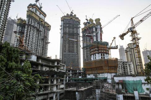 ムンバイで建設中のトランプ・タワー