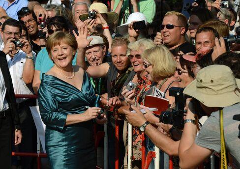 Angela Merkel in Bayreuth