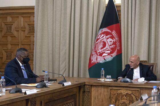 Defense Chief Visits Afghanistan as Troop Deadline Nears