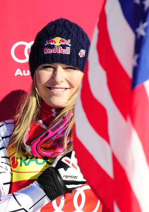 U.S. Skiing Champion Lindsey Vonn