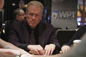 Robert Mercer playing in the World Poker Tour on May 21, 2012.