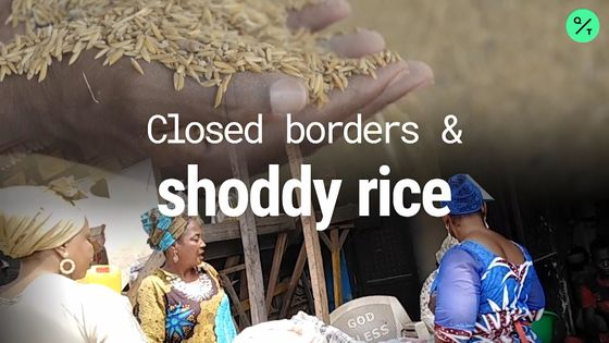 Thwarting Smugglers Leave Nigerians Counting Costs of Stony Rice