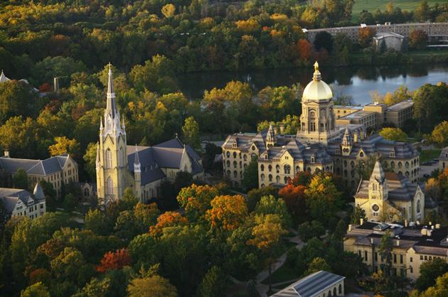 Notre Dame No. 1 for Third Consecutive Year