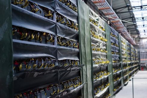 HaoBTC's mining data center in Sichuan, China.