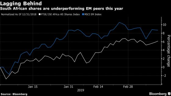 Morgan Stanley Says It's Time for a Bet on South African Stocks