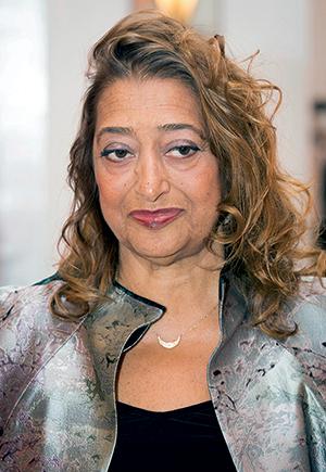 Hadid's designs often provoke controversy.