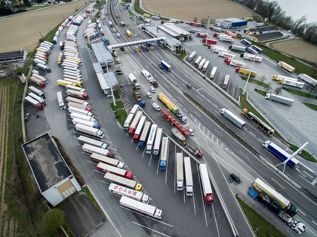 The Trucker's Nightmare That Could Flatten Europe's Economy