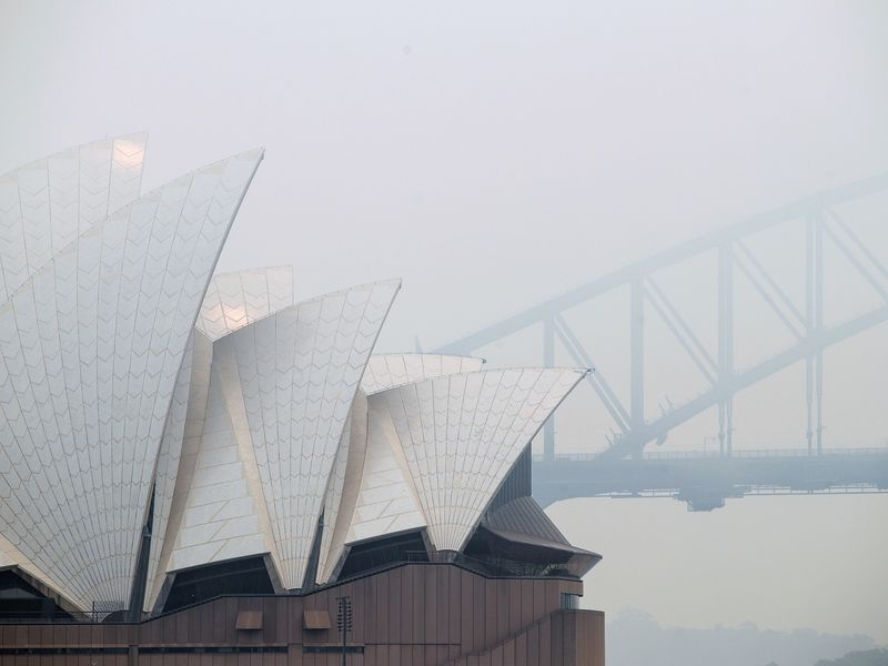 Sydney's Air Pollution Is So Bad It's Setting Off Fire Alarms