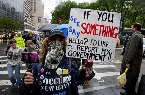 Occupy Starts New York May Day Protests With Chants, Waltzes