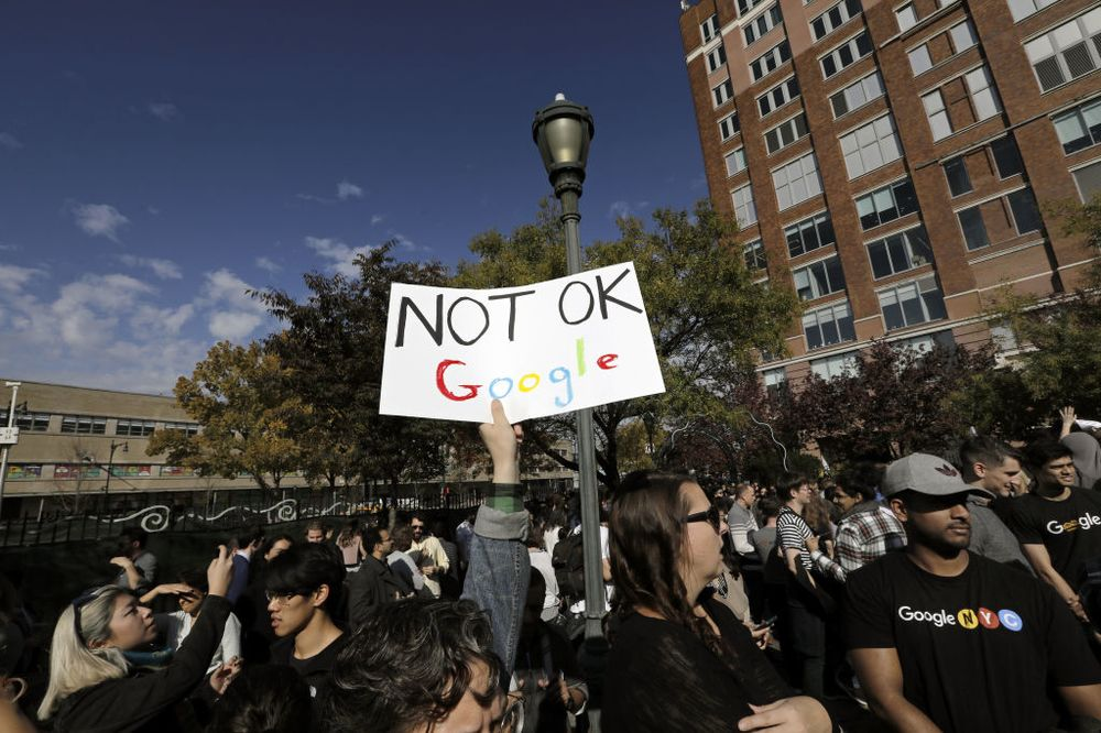 Google Walkout Isn't a Traditional Union Workers' Strike - Bloomberg