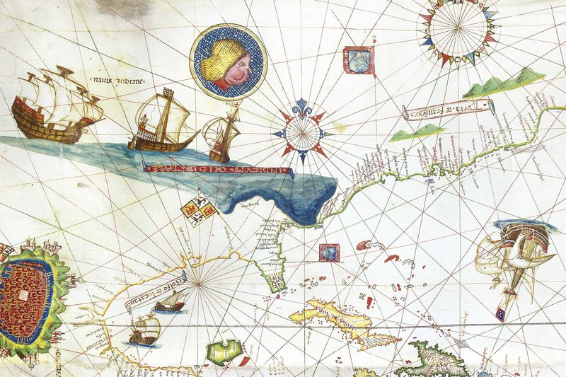 The Oldest Map of New York Is Drawn on Goat Skin Costs 10