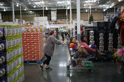 Inside A Costco Wholesale Co. Store Ahead of Earnings Figures