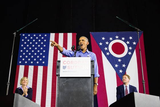 Obama Laments 'Broken'Politics in Stumping for Ohio Democrats