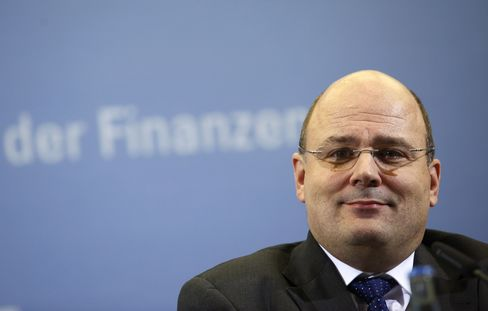 Germany's Deputy Finance Minister Steffen Kampeter