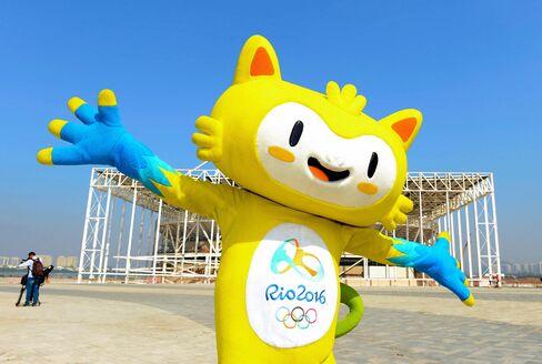 Rio 2016 mascot Vinicius.