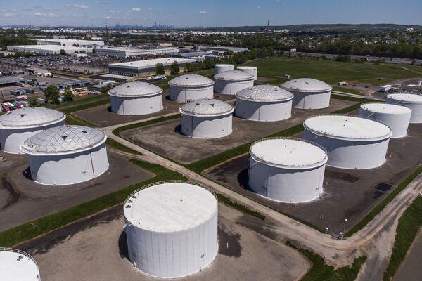 Colonial Pipeline Storage Tanks As Gas Pumps Run Dry