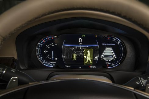 Night vision comes included in the Platinum Edition of the CT6.