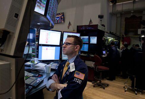 U.S. Futures Erase Losses, Treasuries Fall as Retail Sales Climb