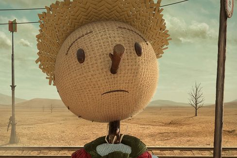 Chipotle Sells Itself With a Sad Cartoon About Agribusiness