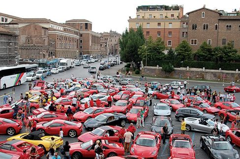 Italy's Austerity Leads to Ferrari Sell-Off