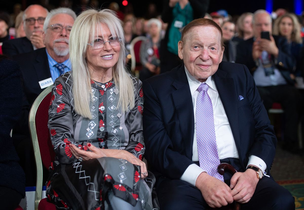Adelsons Pump $25 Million Into GOP Senate Super PAC in August