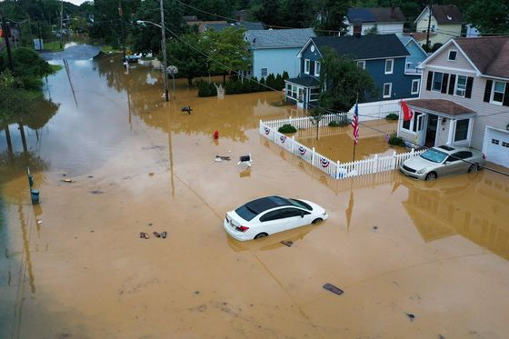 Henri Losses May Reach $4 Billion as Heavy Rains Trigger Floods