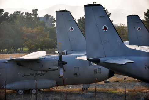 G222 Transport Planes in Kabul