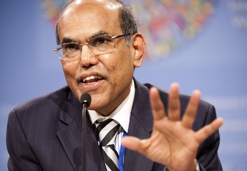 Reserve bank of India Governor Duvvuri Subbarao