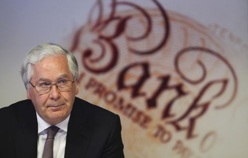 King to Lead Central Bankers Seeking Solution to Libor Damage