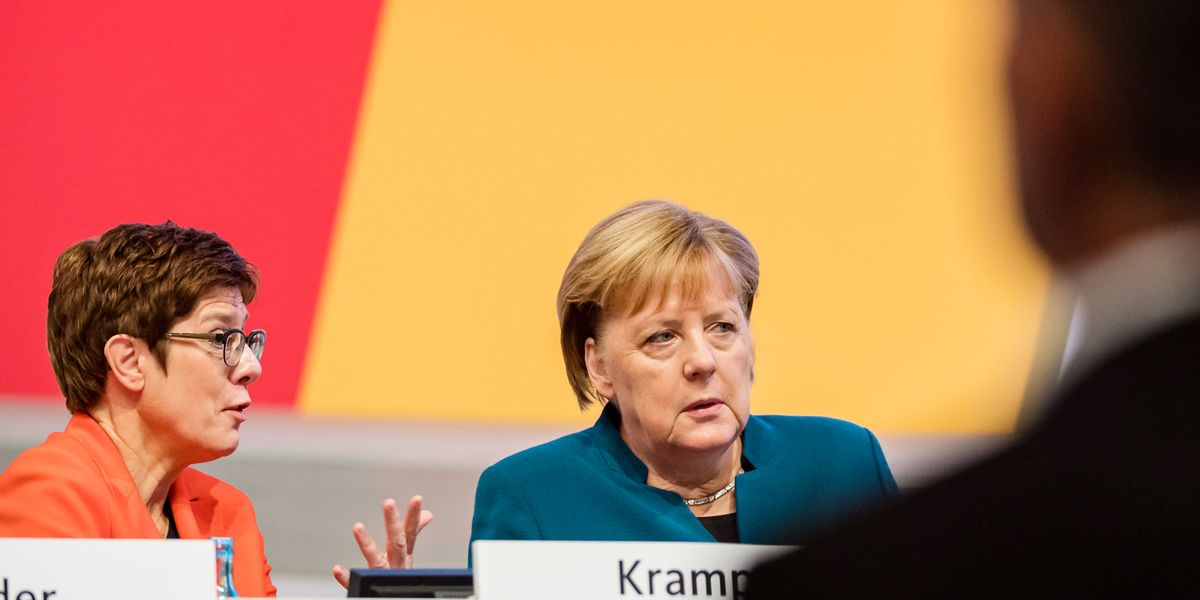 Merkel's Bloc Draws Red Line For Talks With Coalition Partners