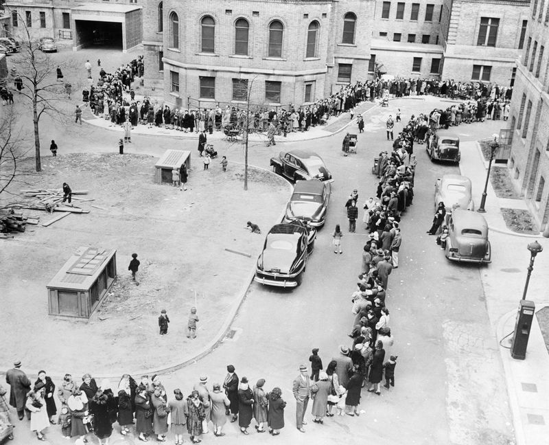 Smallpox Vaccination - NYC outbreak 1947