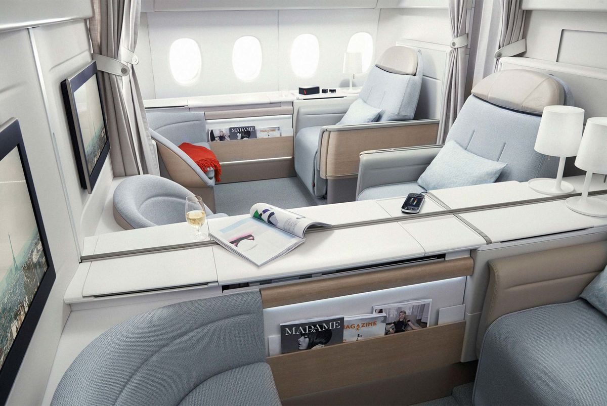 First-Class Flying Is Back and It's More Luxurious Than Ever
