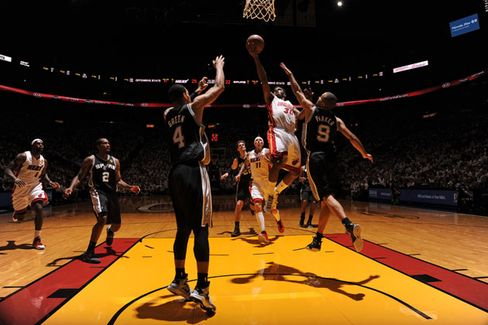 NBA to Sell Ad Space on the Hardwood