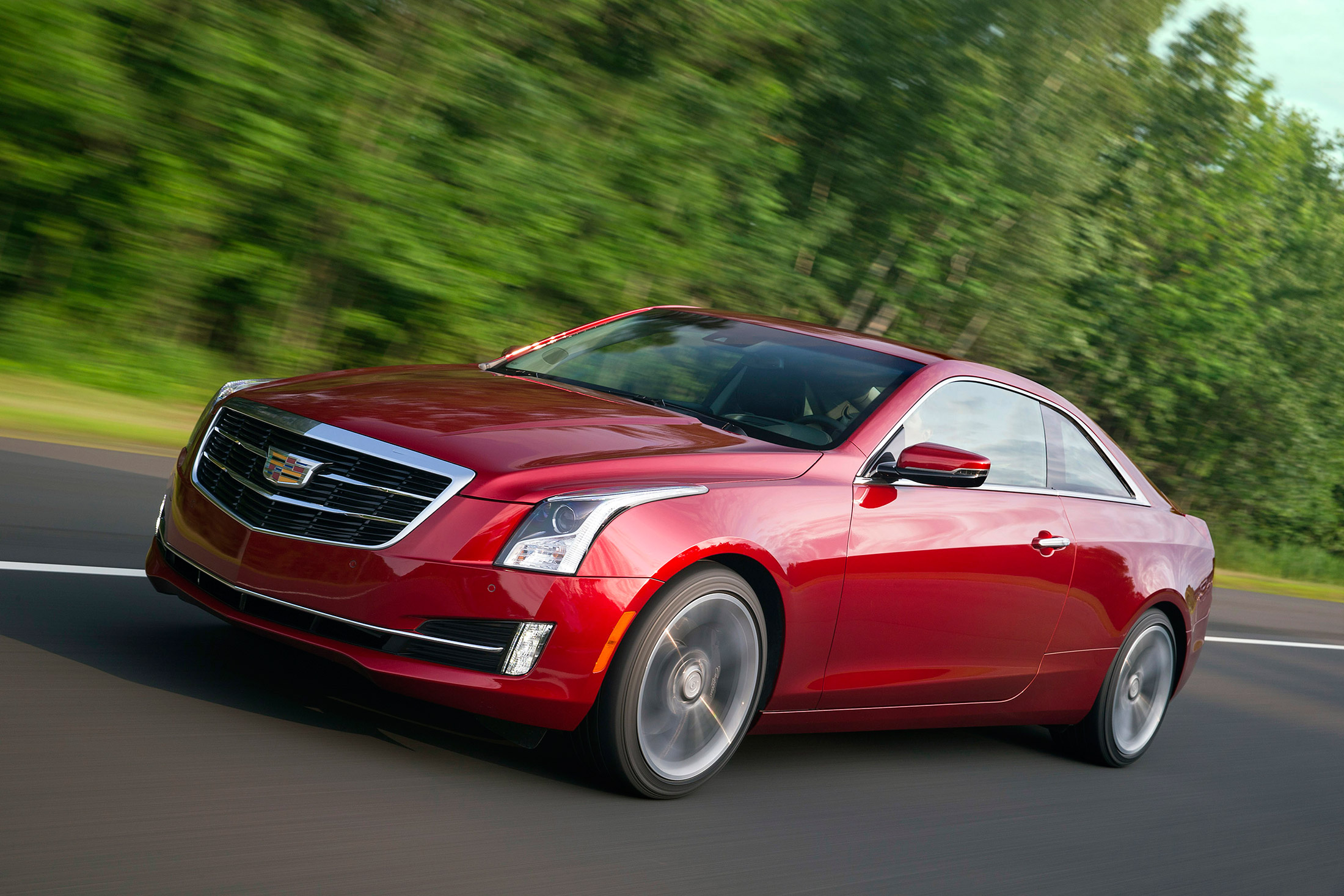 2016 Cadillac Ats Coupe Review Annoying Forgettable And A Big 3 1 L Engine Diagram Improvement Bloomberg