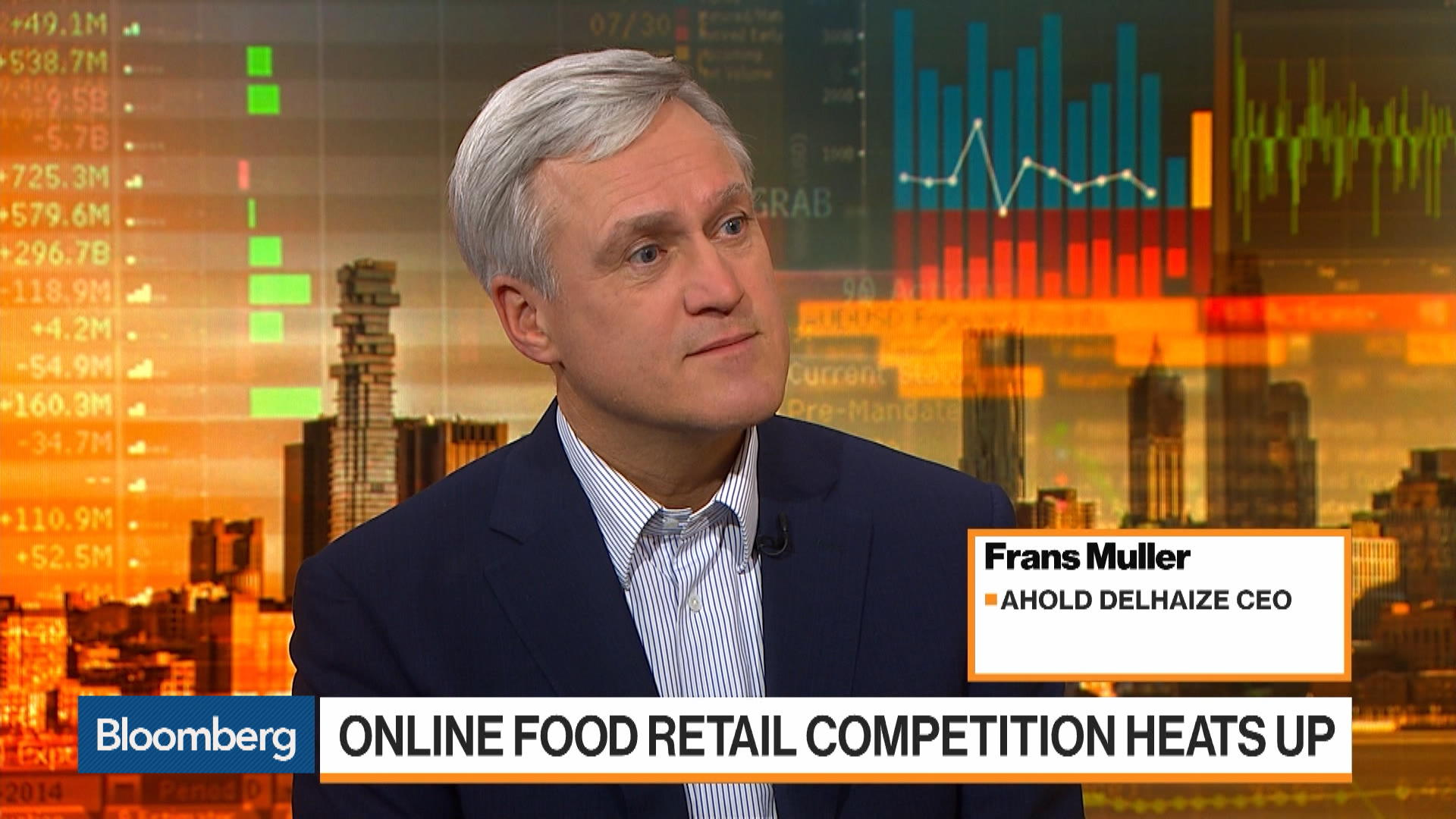 Ahold Delhaize Aims to Revamp Lagging U S  Online Business