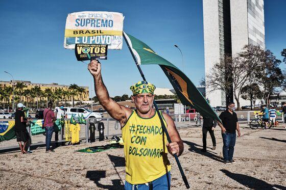 Brazil on Edge as Bolsonaro Tells His Base to Take to the Streets