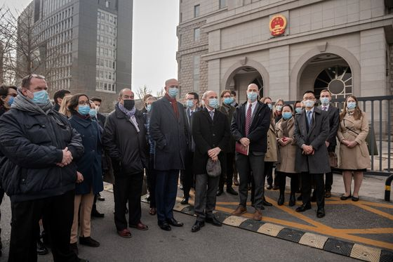 China Confronted by Show of Western Unity at Canadian's Trial