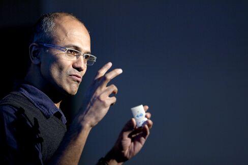 Microsoft Cloud-computing Chief Satya Nadella