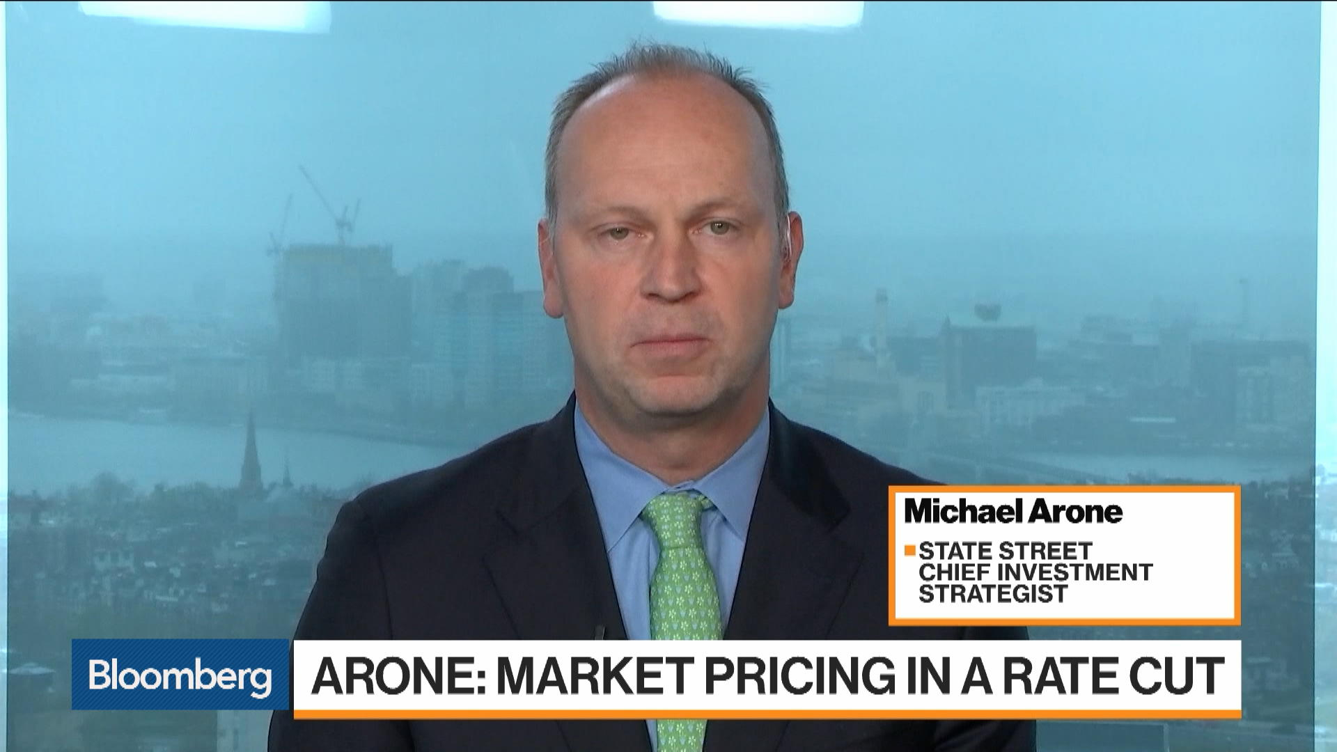 Stocks Are a 'Whisker Away' From All-Time Highs, State Street's Arone Says