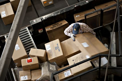 Retailers in U.S. Risk Holiday Shipping Rush