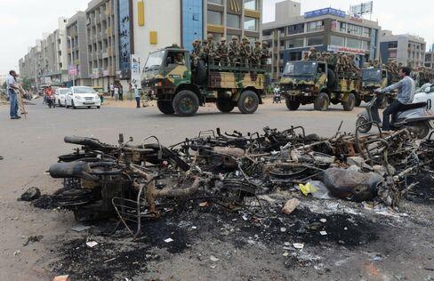 India unrest