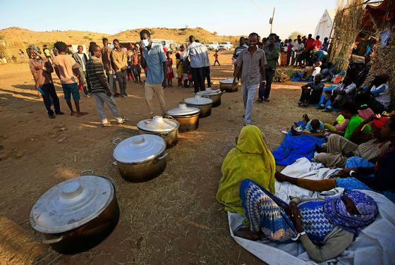 Ethiopia Fighting Leaves Sudan Hosting Refugees It Can't Support