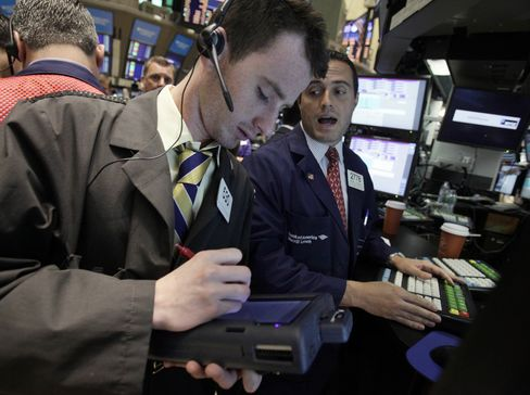 Treasuries Join Stocks Dropping in Markets Overwhelmed by U.