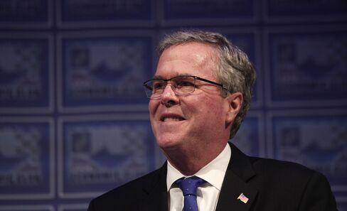 Jeb Bush Speaks At Detroit Economic Club