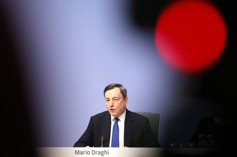 Mario Draghi on March 9.