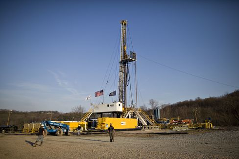 Natural gas drill rig