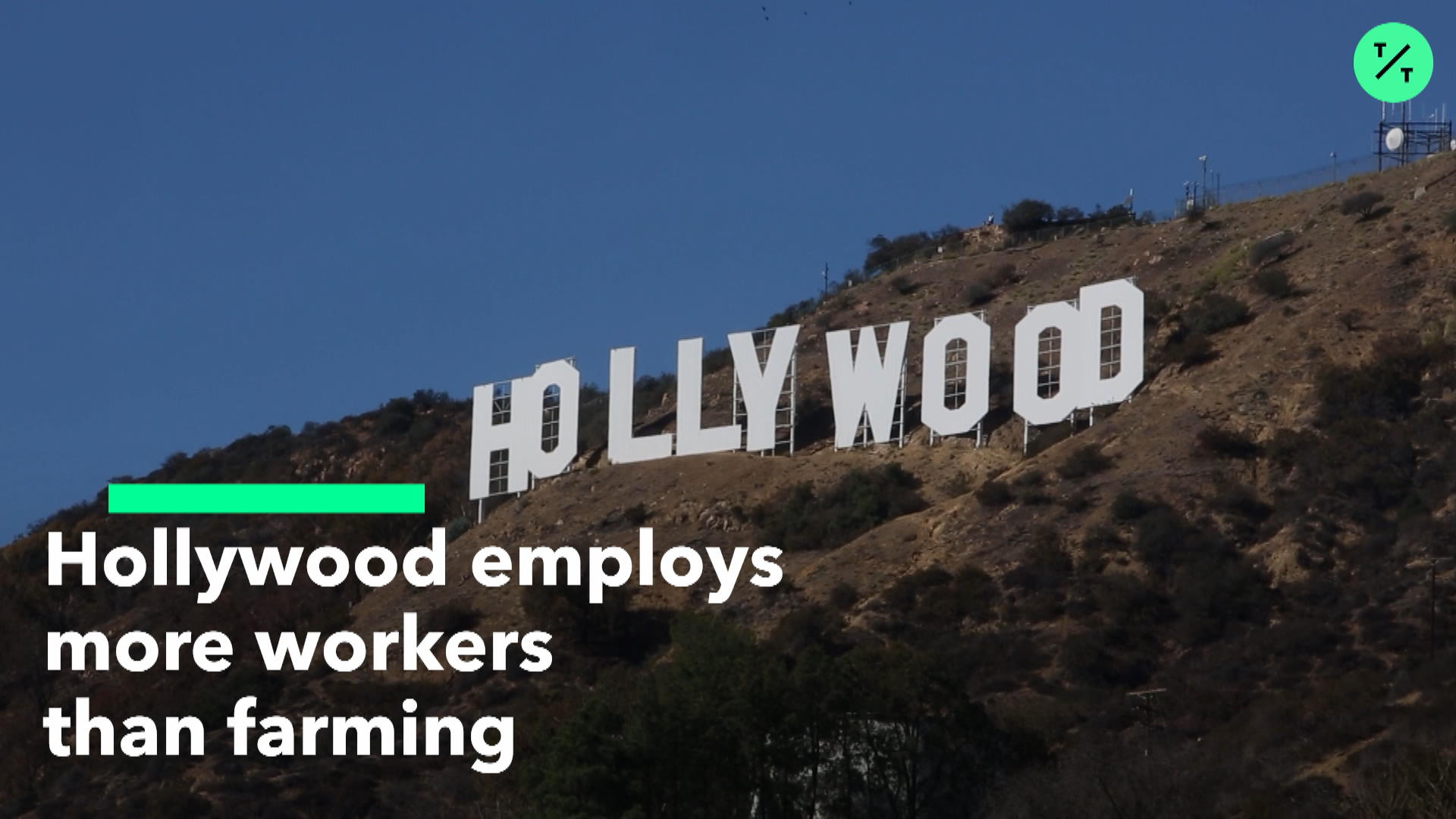More Hollywood Employees than Farmers