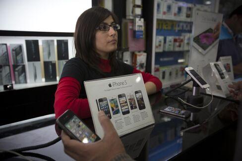 iPhone 5 in New Delhi
